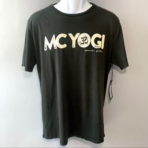 Spiritual Gangster T Shirt Size MC Yoga Graphic